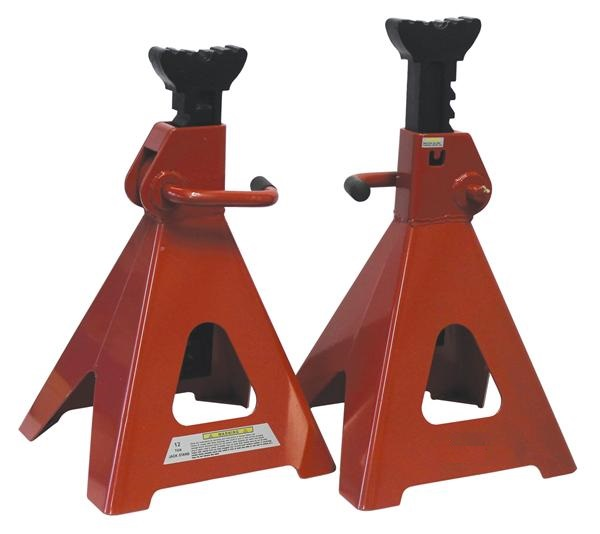 Wheel Alignment Tools >> GT12TS – 12 TON HEAVY DUTY TRESTLE STANDS (JACK STANDS ...